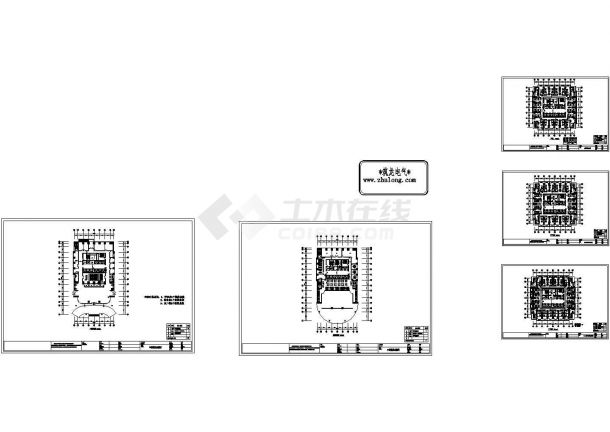[长沙]某大型酒店弱电系统施工图纸-图一