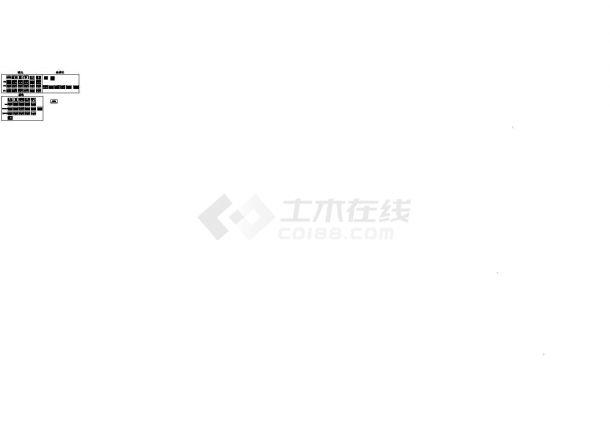 [重庆]3060㎡五层办公楼给排水消防电气施工图-图一