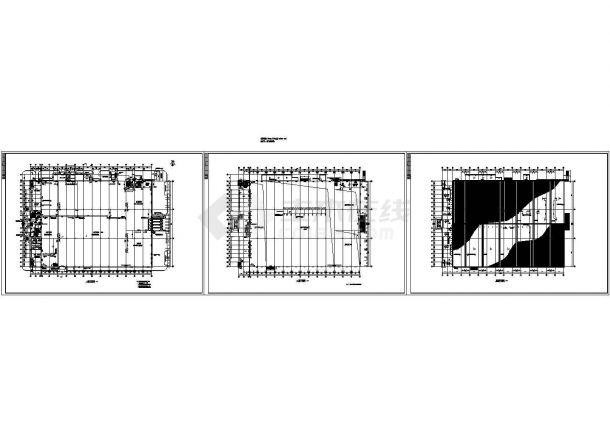 2层16111.49平米框架结构塑料加工厂房建施图(长142米 宽100.4米)-图一