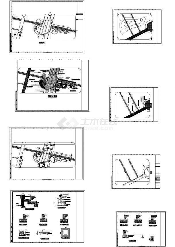 花园园林规划设计CAD施工图-图一