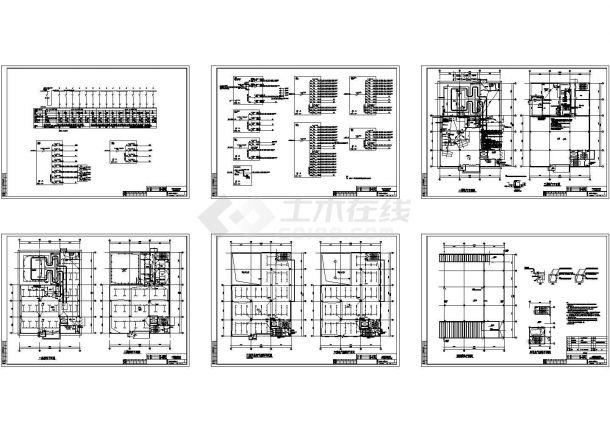 某加速器厂房电气施工设计图-图一