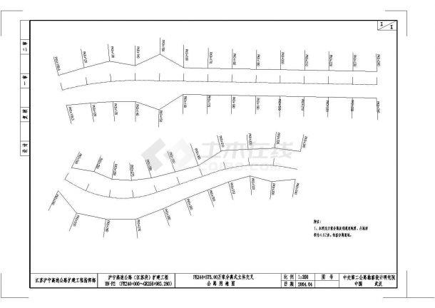 1-50m系杆拱桥施工图纸(标注明细)-图一