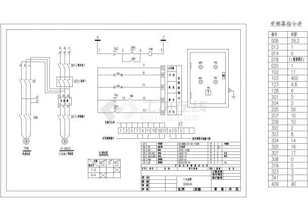 丹佛斯变频器控制图及指令表-图一