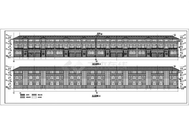 某地区三层普通住宅楼建筑设计施工图-图一