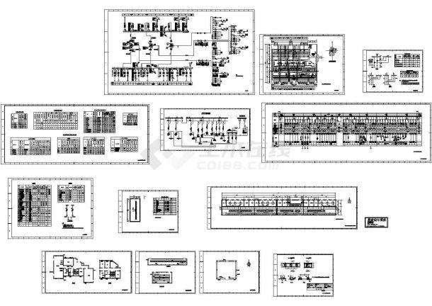 10KV配电室及380KV配电室电气施工设计图-图一