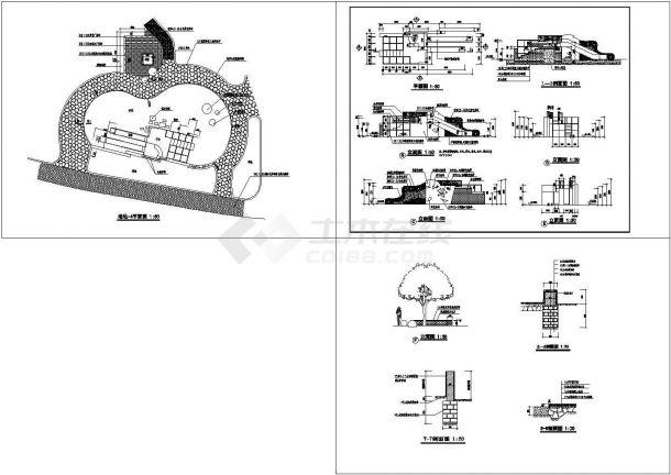 景观施工图分类细部大全—童叟乐园cad图-图一