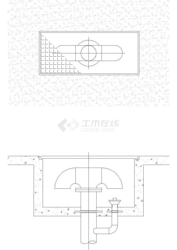 景观施工图分类细部大全—控制设备cad图-图一