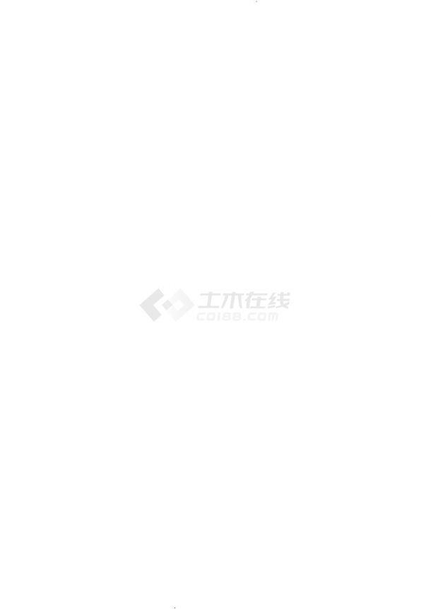 苏州现代园林景观施工设计平面图-图一