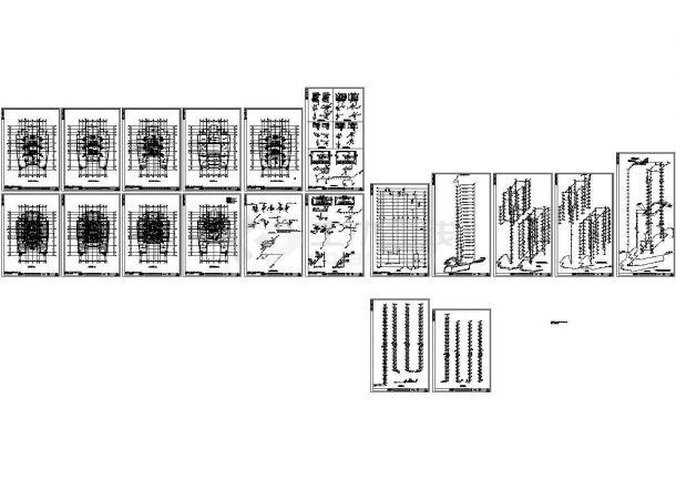 -1+21层办公楼给排水施工图-图二