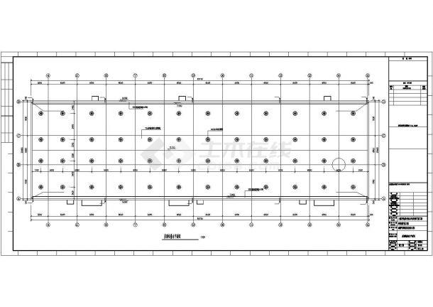 甲类仓库泡沫雨淋及喷淋消火栓泵房全套图纸-图二