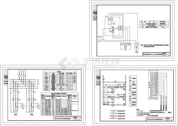 常用电气控制原理Cad图[通用图]-图一