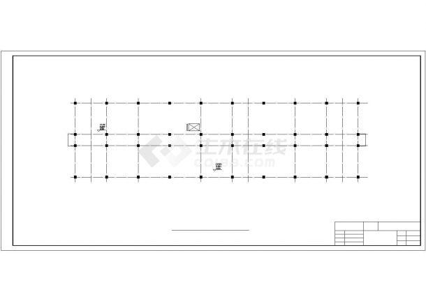 5600平米六层科研所办公楼建筑图纸-图一