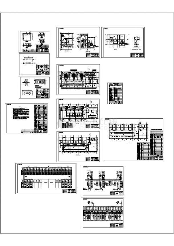 【甲级院全套施工图】石拉乌素矿井及选煤厂110kV变电所-图一