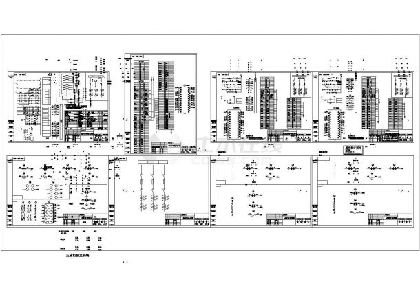 高压单相柜控制原理图-图一