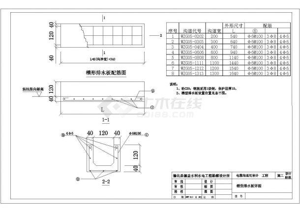 某地区110KV变电所工程室内外电缆、所区道路、消防砂池设计cad施工图(标注详细)-图二
