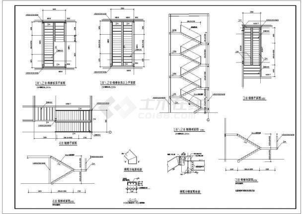 【南京】某71x63m门式刚架汽车展厅全套结构设计施工图【25个CAD文件】-图一