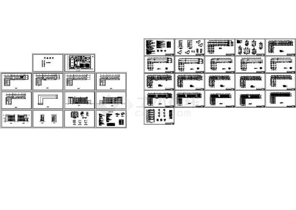 [学士]五层框架结构中学教学楼优秀毕业设计-图一