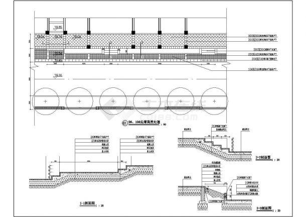 走廊高差处理节点详图-图二