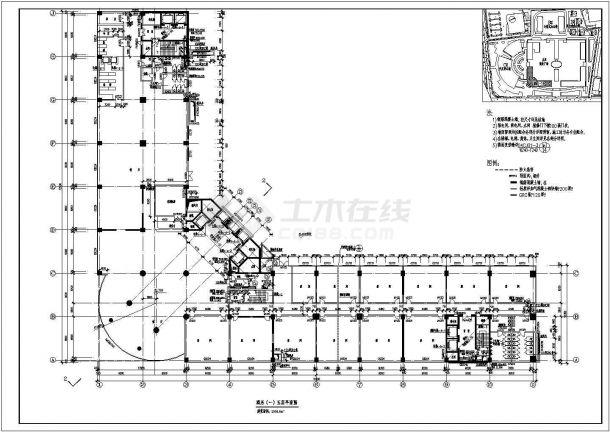 某地16层框剪结构五星级酒店设计方案图-图二