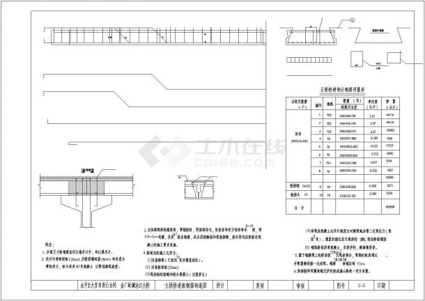 1-300m集束钢管混凝土拱桥-提篮拱桥全套CAD图纸-图二