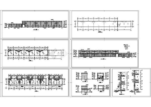 二层商业楼建筑设计施工图纸-图一