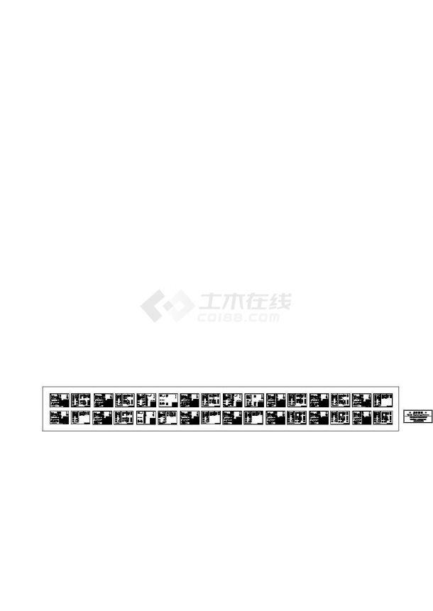 某电力工程10KV高压柜设计cad全套电气控制原理图(大院设计,32张图)-图一