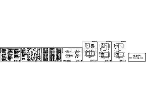 某工程消防水箱间电气图纸-图二