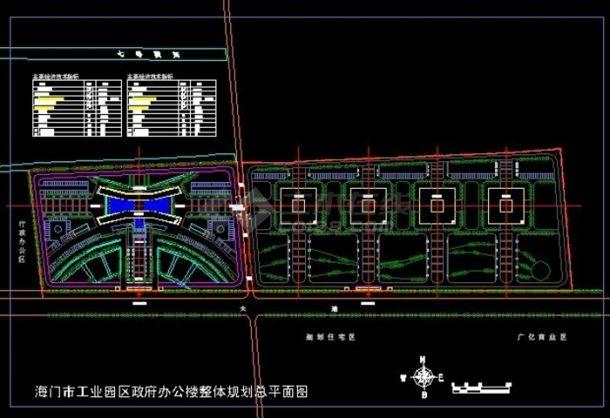 新区科技园规划设计图-图一