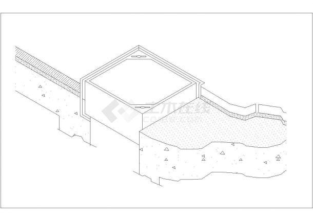 某地双层井盖结合周围铺装详细施工图大样-图二