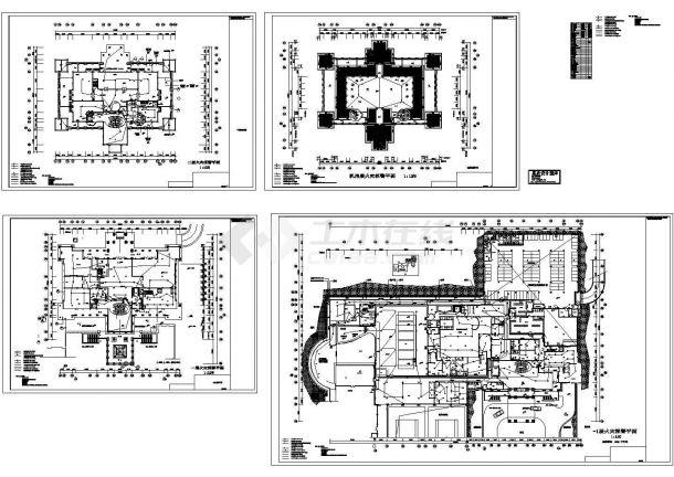 某酒店火灾自动报警系统设计图-图二