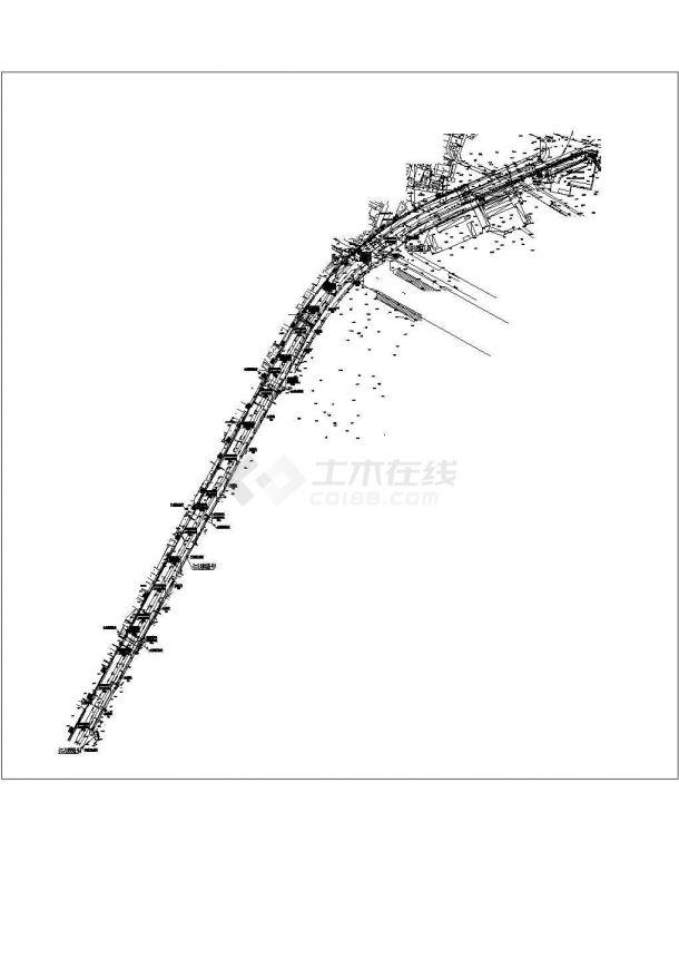 某地区市政电气工程道路电缆管线电气施工图-图二
