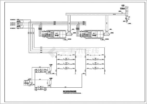 某项目真空燃气锅炉房施工图 六张图片