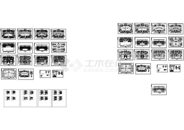 某五星级大酒店电气设计图纸-图一