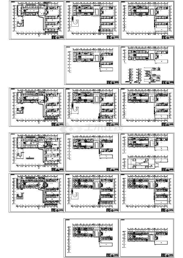 8500㎡五层办公楼全套电气设计施工图纸-图二
