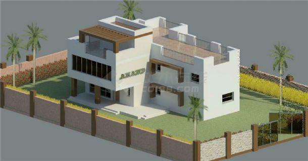 二层独院别墅BIM项目模型Revit-图一