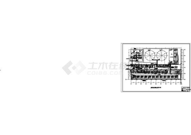 某电厂锅炉补给水处理系统全套施工图-图二