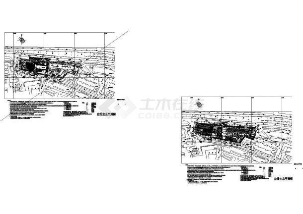 某高层住宅给排水设计图纸-图一