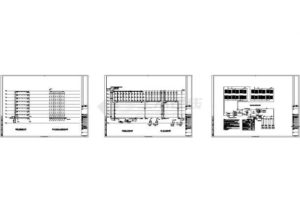 某后勤服务中心给排水设计图纸-图一