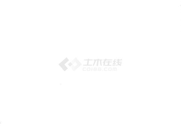 北京体育馆网球中心污水处理系统CAD图纸-图一