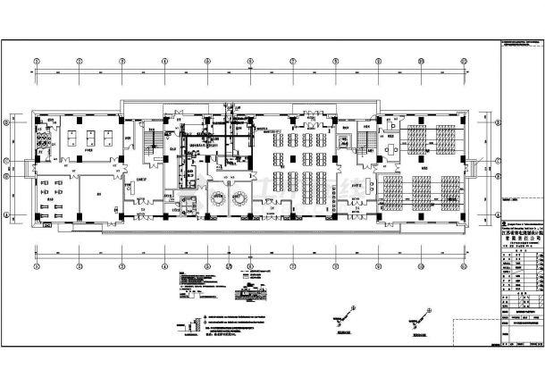苏宁物流中心场地商业装修设计图纸-图二