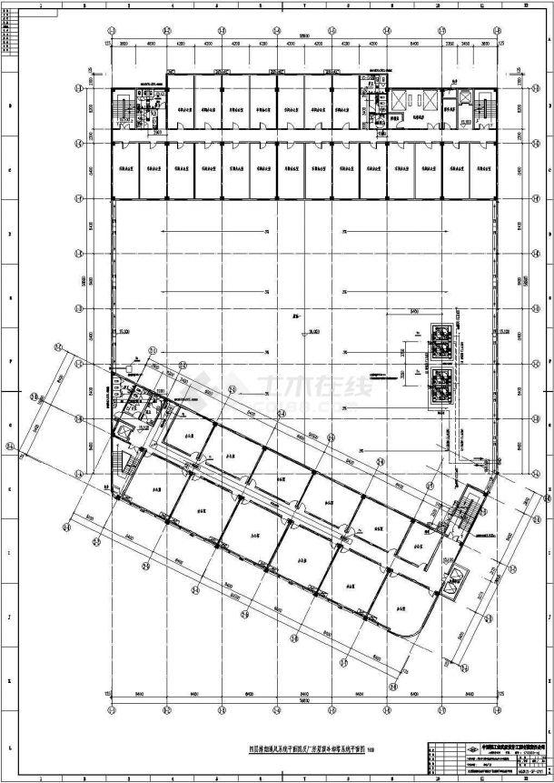 某地厂房综合楼溴化锂空调设计施工图-图二