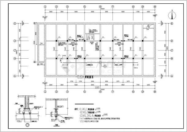 某大学MBR工艺中水回用系统工程设计图-图一