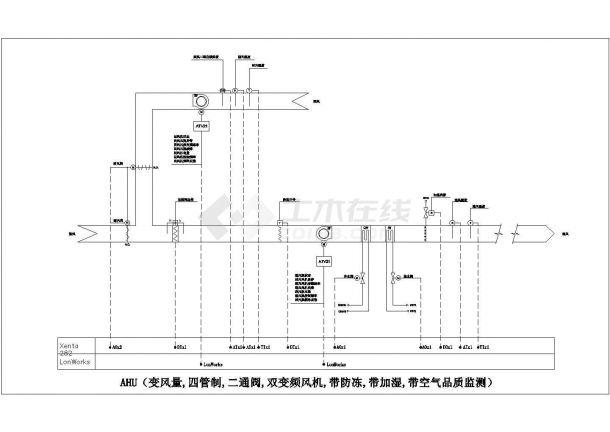 施耐德楼宇自控资料--HVAC及其他设备接口(CAD图)1-图二