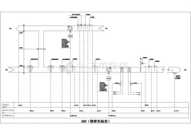 施耐德楼宇自控资料--HVAC及其他设备接口(CAD图)2-图一
