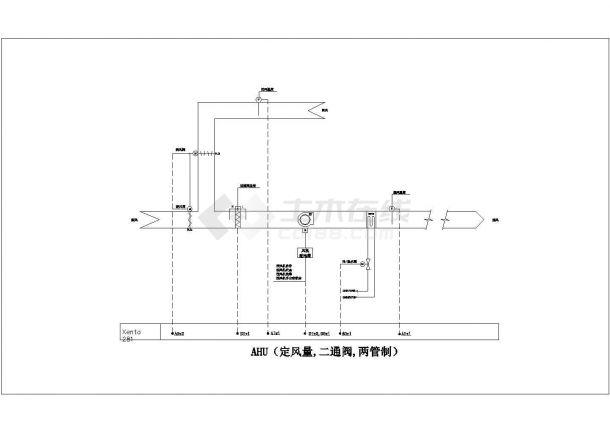 施耐德楼宇自控资料--HVAC及其他设备接口(CAD图)2-图二
