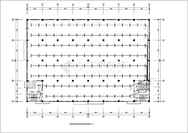 某地工业厂房电气设计图(共7张)-图二