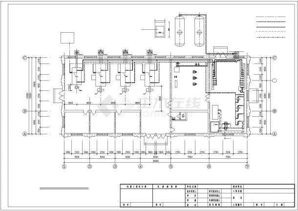 【黑龙江】某供热锅炉房设计施工图-图一