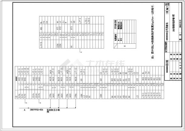 某大型化工厂10KV供电系统二次原理设计图-图二