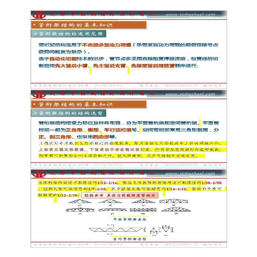 【课件】管桁架结构设计基本原理-图二