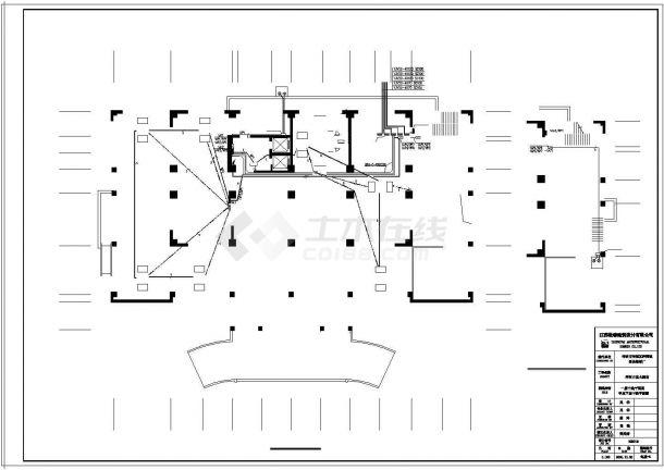 【宿迁市】洋河白宫大酒店电气设计图纸-图一